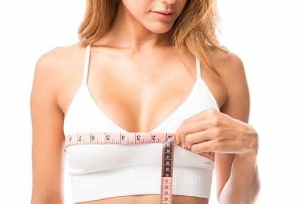 Как мерить обхват груди над, под грудью. Размеры