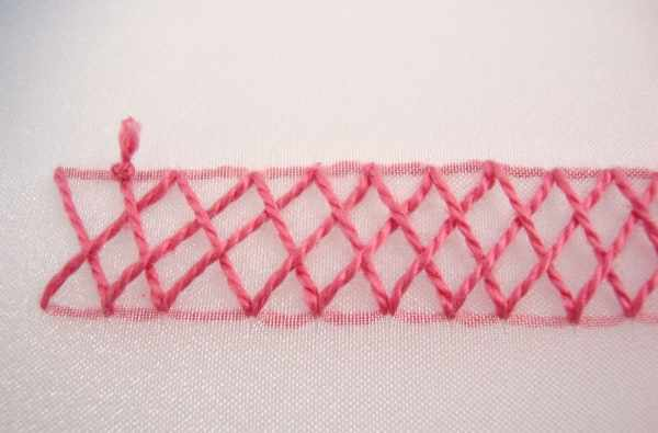 Как вышивать бэкстич пошагово крестом. Что это такое