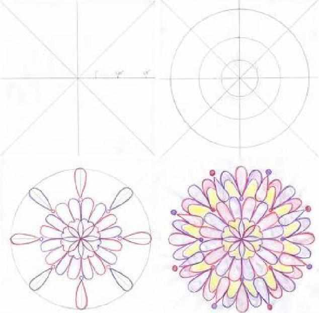 Как нарисовать мандалу