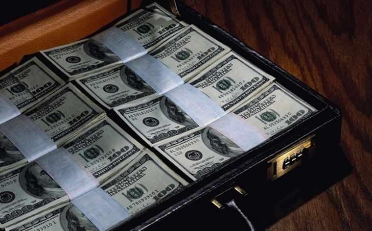 денежный чемодан