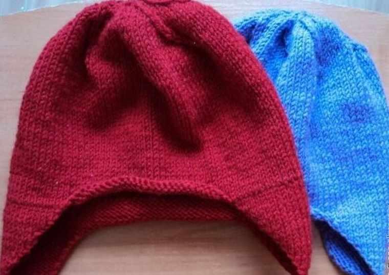 двойная шапочка для девочки
