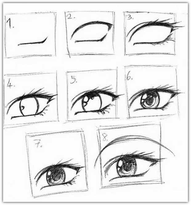Прорисовка глаза
