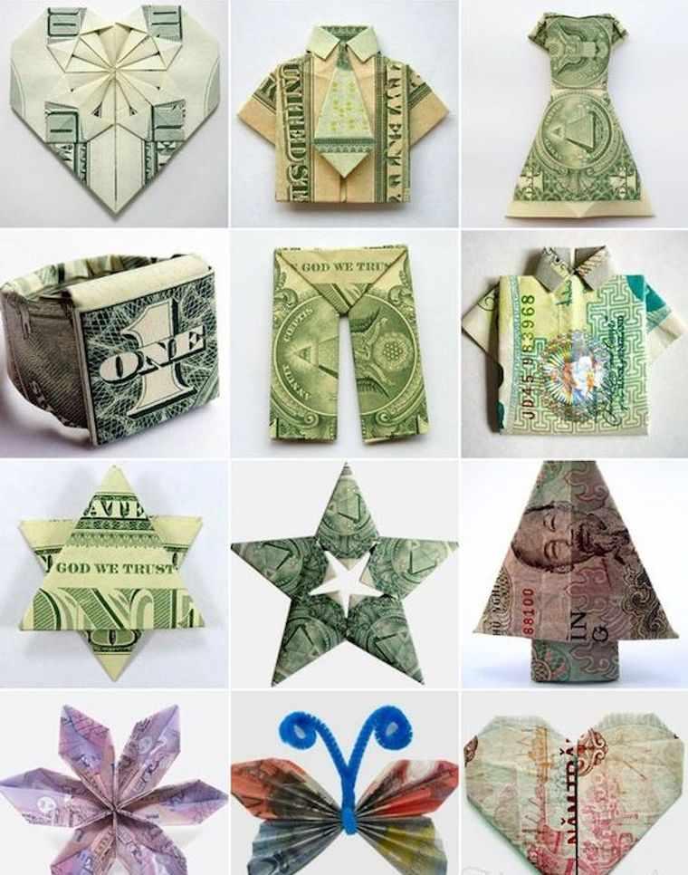 оригами-деньги